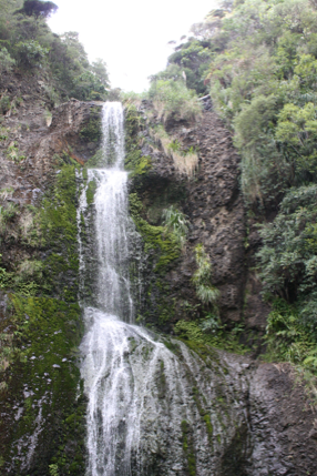kitekite falls piha west auckland nzmuse