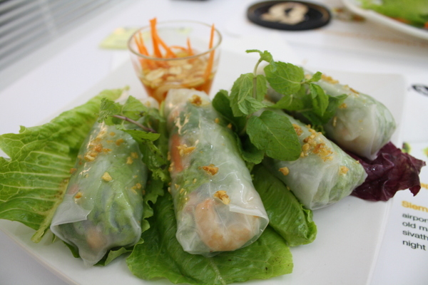 soft spring rolls the blue pumpkin cambodia