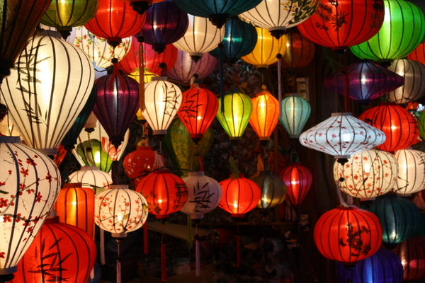 Colourful lanterns - Hoi An markets
