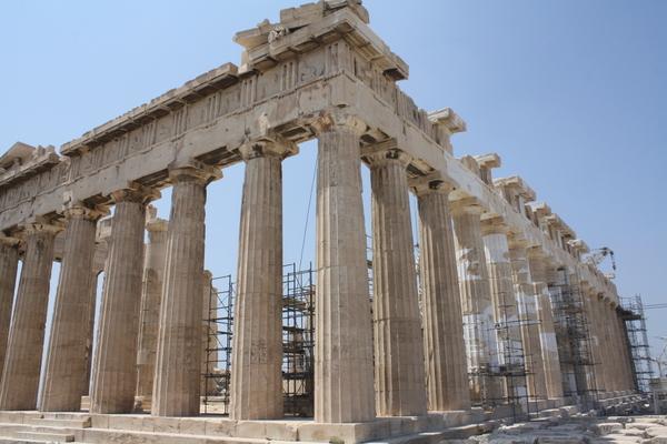 parthenon in acropolis athens 2013