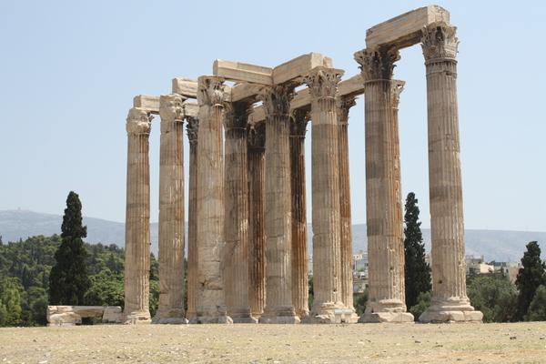 templt of olympian zeus athens
