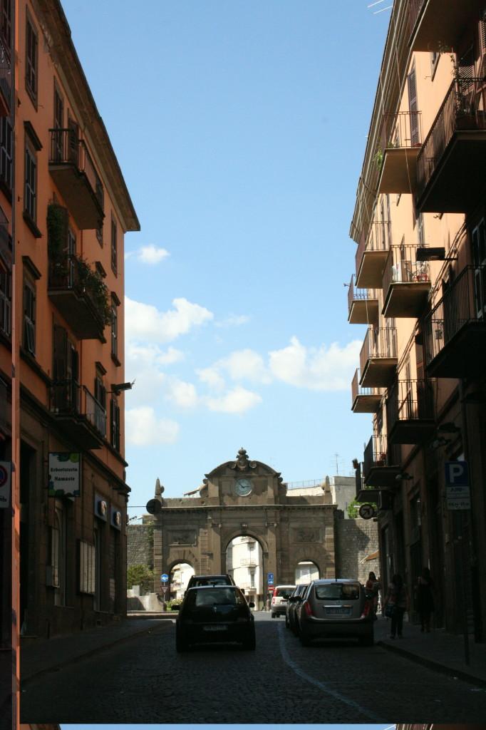 viterbo city walls