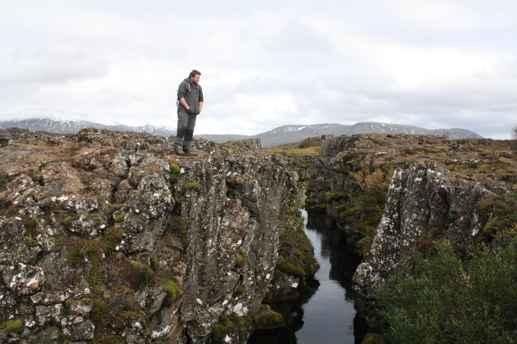 Iceland landscape - pingvellir park
