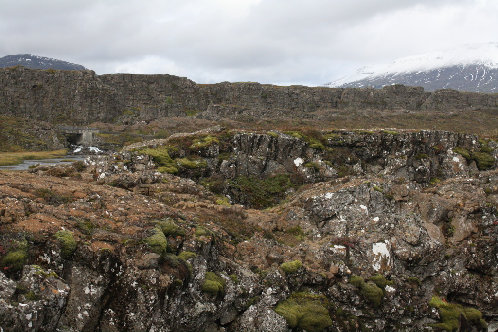 iceland landscape pingvellir park