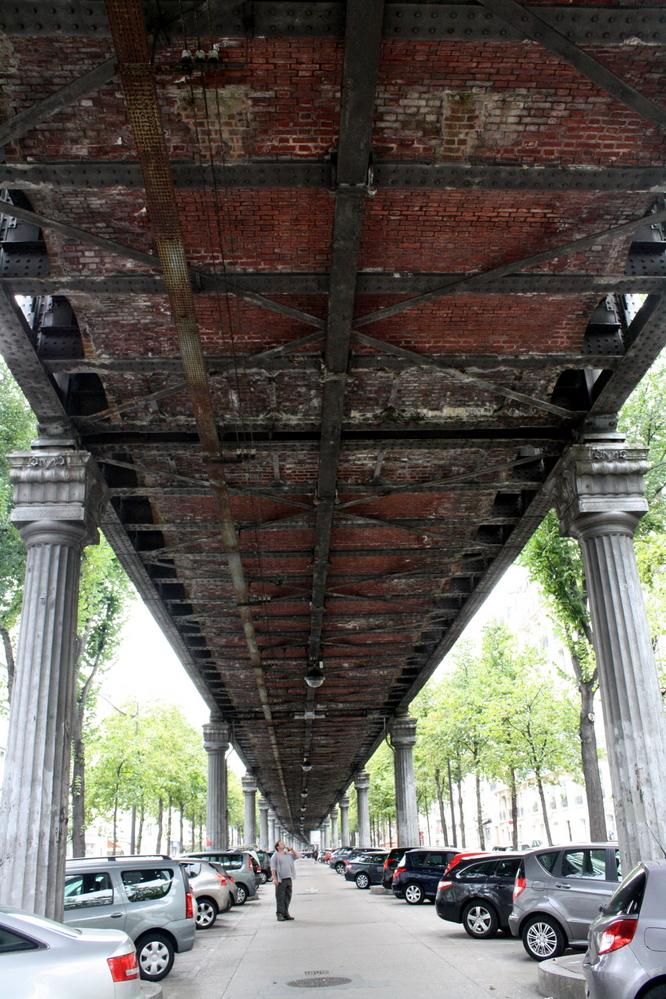 paris under bridge