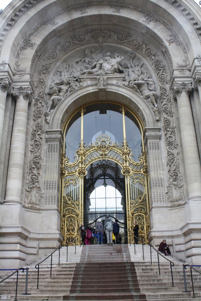 Petit Palais gallery museum entrance