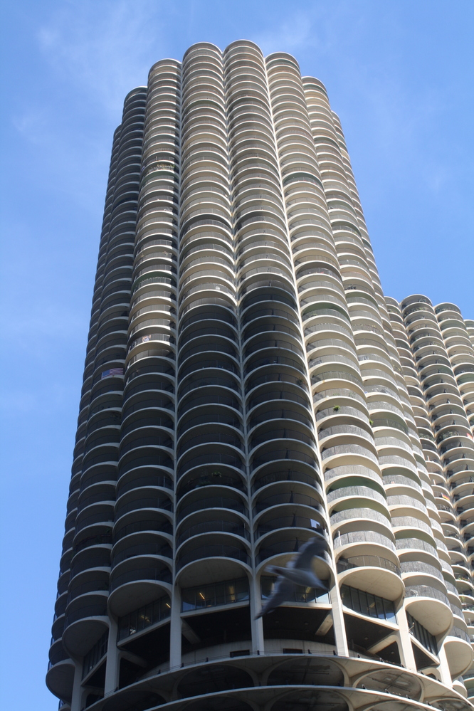 chicago marina city towre building