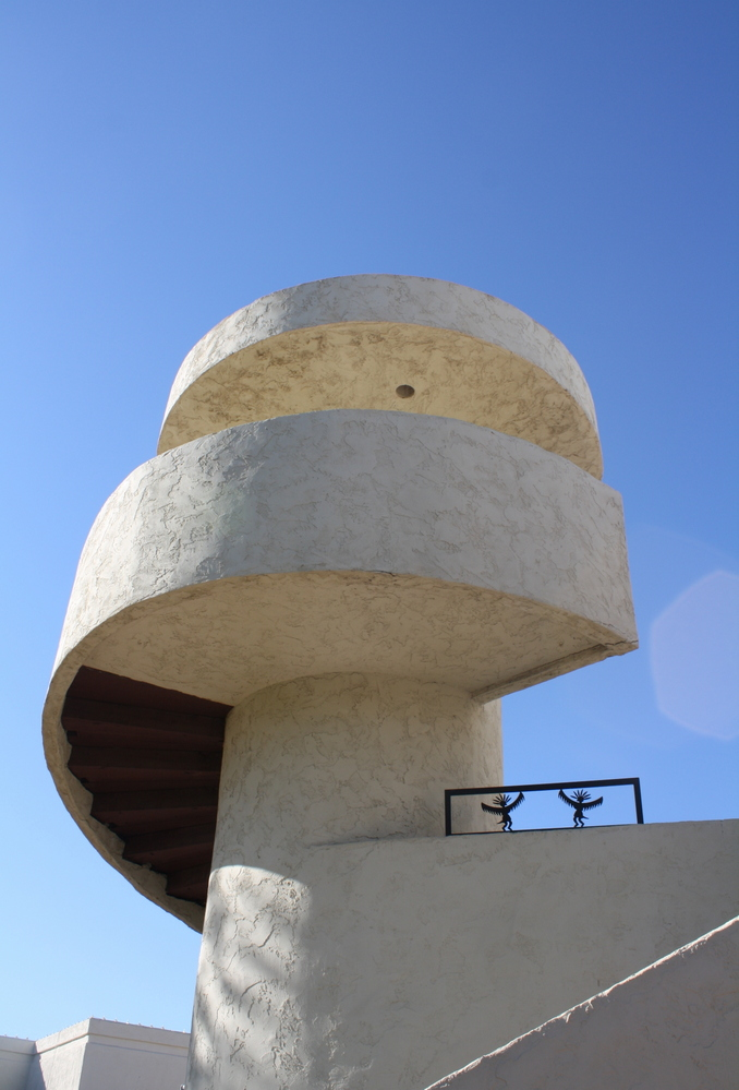 Spiral architecture in Scottsdale Arizona