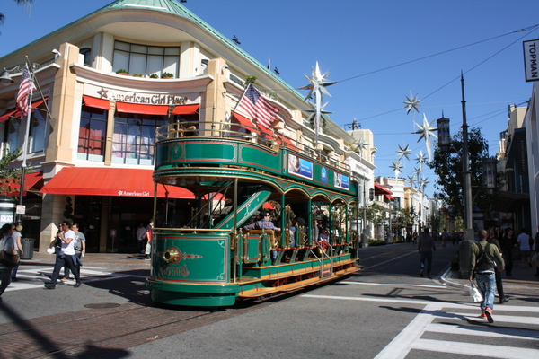 los angeles the grove green tram nzmuse