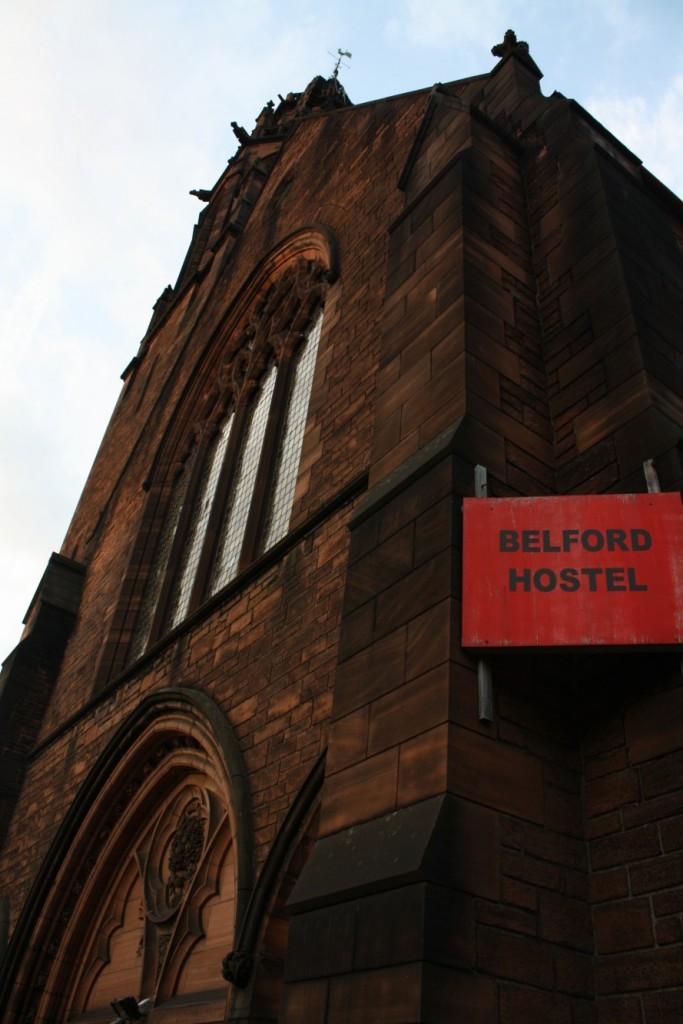 Belford Hostel, in an old church in Edinburgh