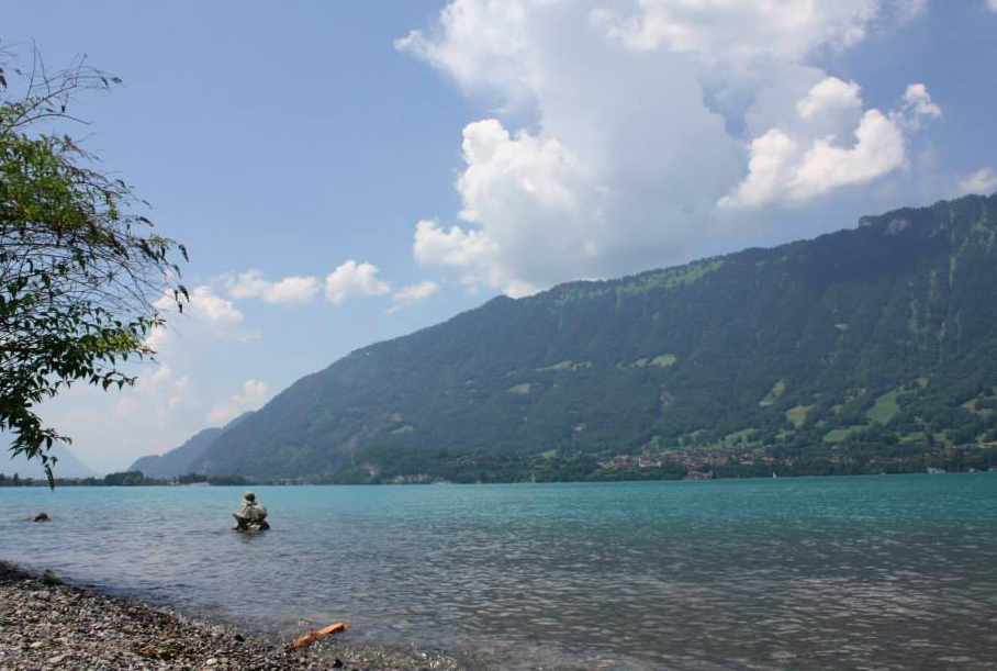 lake brienz grindelwald switzerland nzmuse