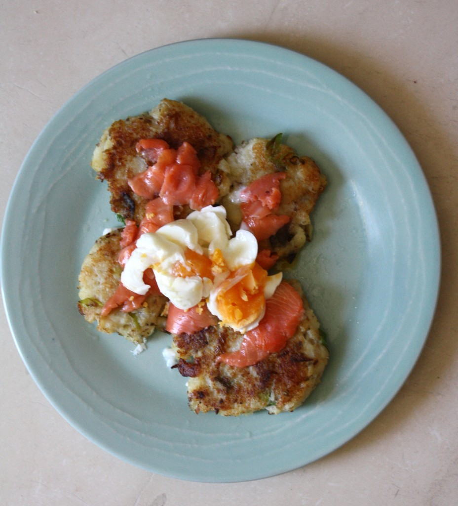 NZMUSE potato cakes salmon eggs