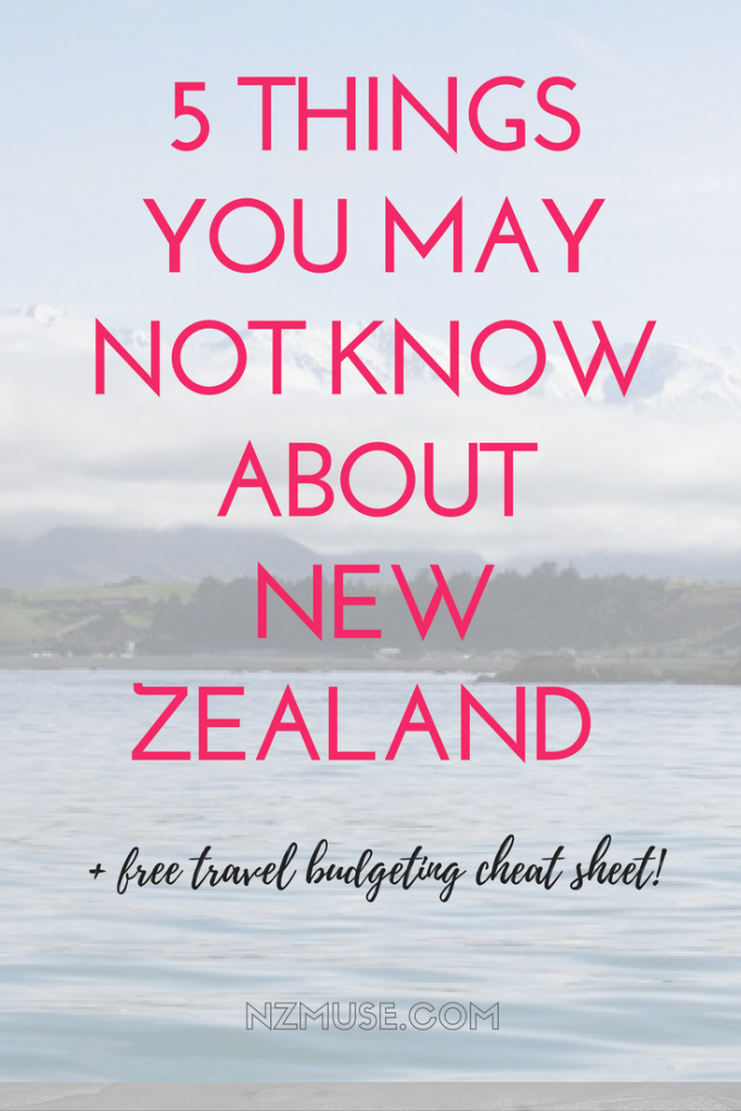5 things to know about NZ before you travel