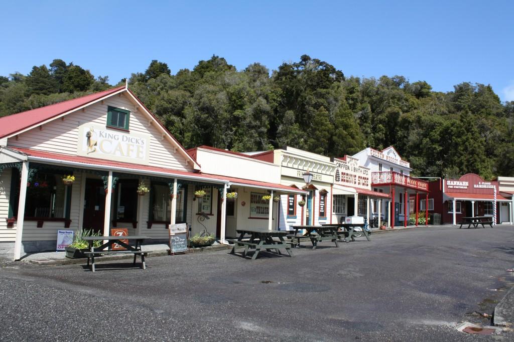 Shantytown replica village