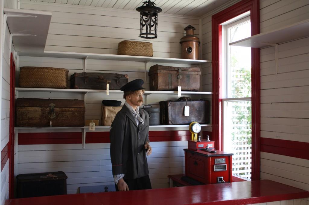 Shantytown replica post office