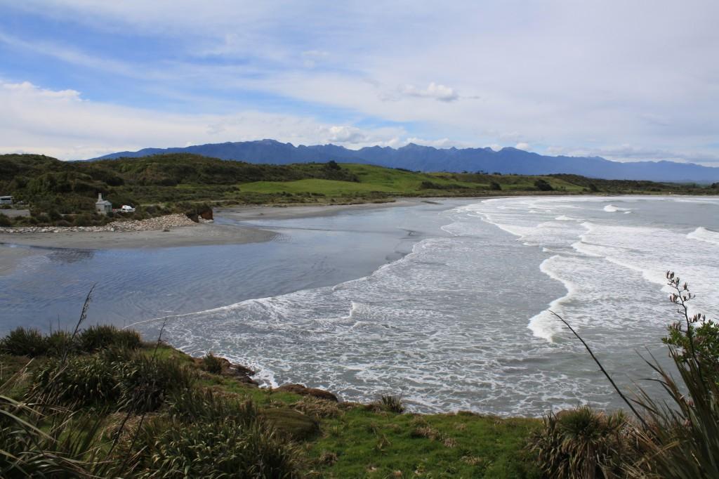 Cape Foulwind / Tauranga Bay in the South Island NZ
