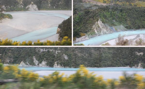 Waimakariri Gorge seen from the TranzAlpine train