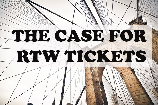Why you should take a RTW trip
