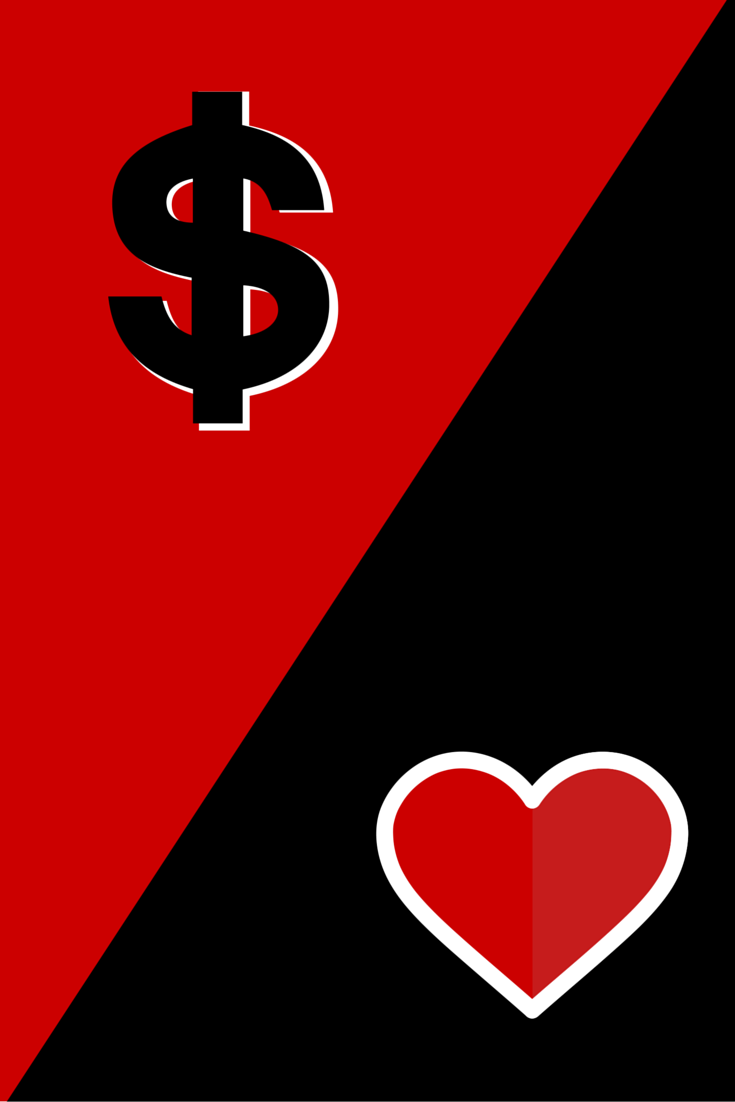 Love vs money - NZ Muse