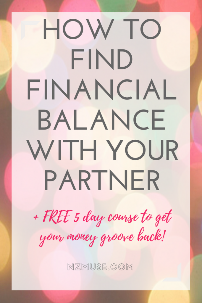 HOW TO FIND FINANCIAL BALANCE WITH YOUR PARTNER