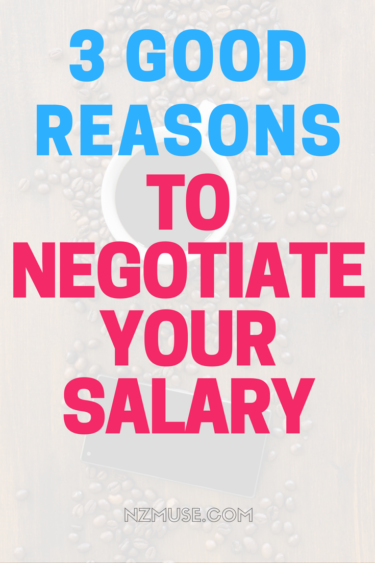 3 reasons to negotiate your salary